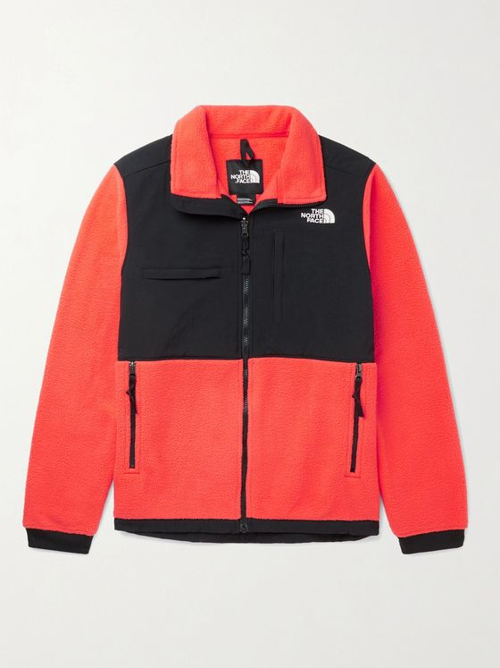 THE NORTH FACE Denali 2 Logo-Embroidered Colour-Block Fleece and Shell Jacket
