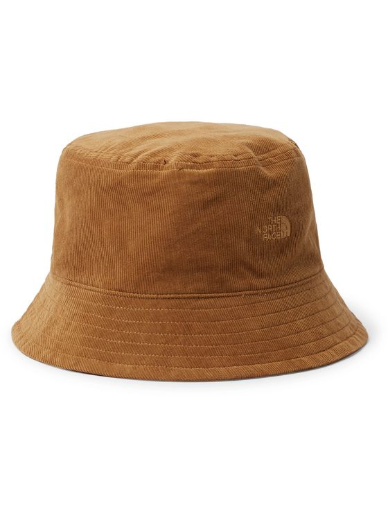 THE NORTH FACE Reversible Logo-Detailed Cotton-Corduroy Bucket Hat