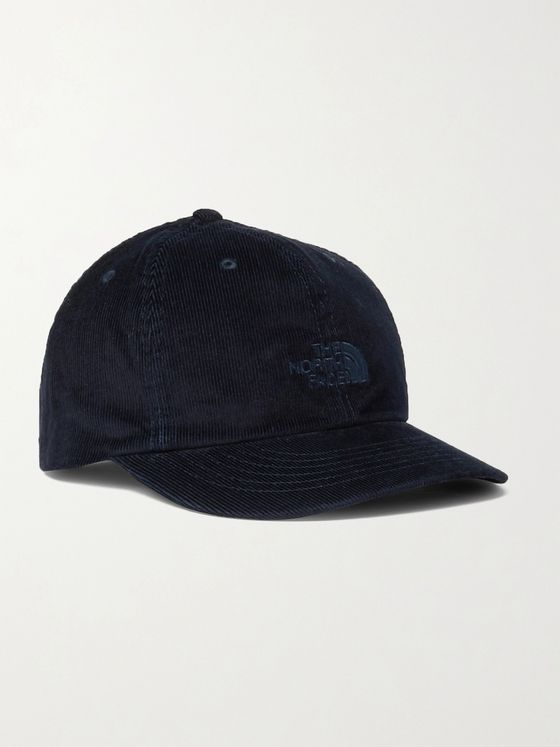 The North Face Heritage Logo-Embroidered Cotton-Corduroy Baseball Cap