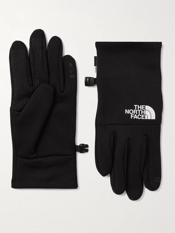 THE NORTH FACE Etip Logo-Print Ponte Gloves