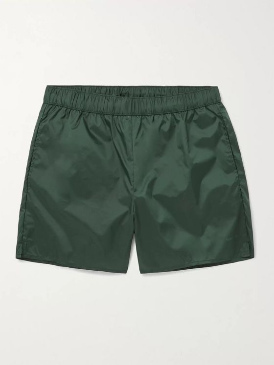 Acne Studios Warrick Mid-Length Swim Shorts