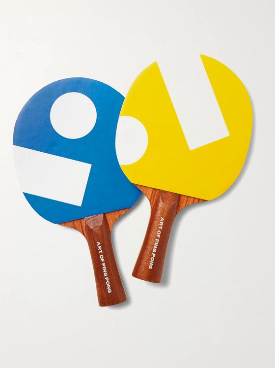 The Art of Ping Pong Printed Ping Pong Bat Set