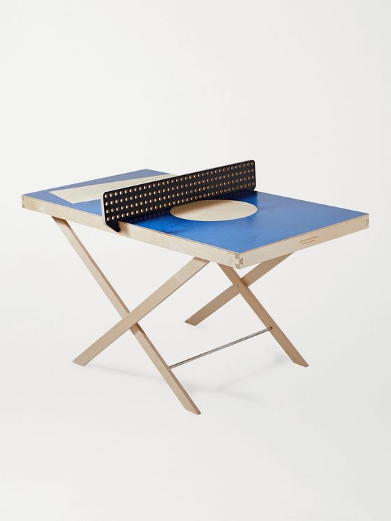 THE ART OF PING PONG Printed Wall-Mountable Ping Pong Table