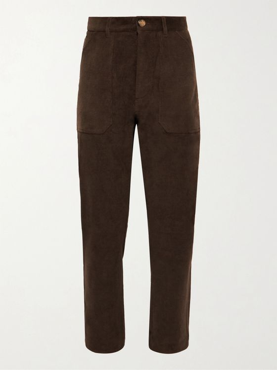 NANUSHKA Jasper Cotton-Blend Corduroy Suit Trousers