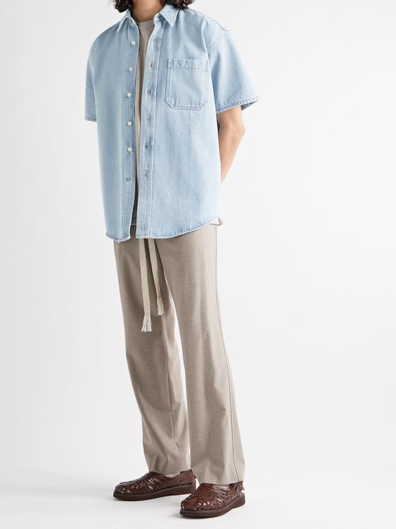 NANUSHKA Avery Denim Shirt