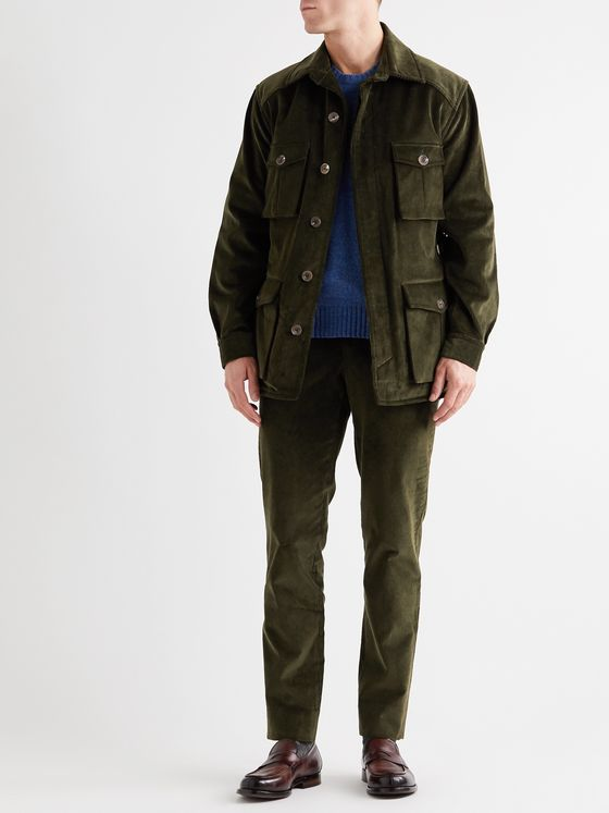 Anderson & Sheppard Cotton-Corduroy Jacket
