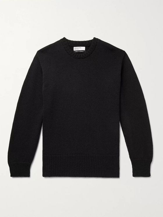 Universal Works Ribbed Wool Sweater