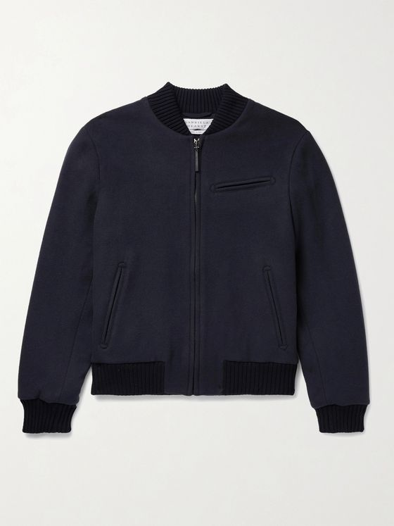GABRIELA HEARST Gregory Cashmere Bomber Jacket