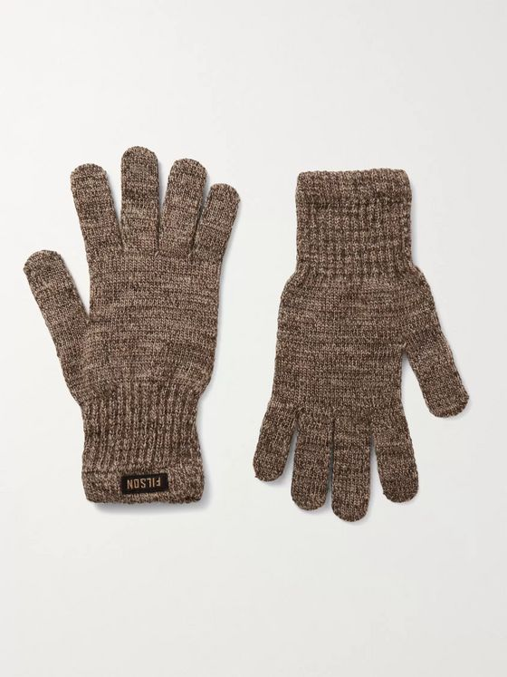 Filson Mélange Wool-Blend Gloves