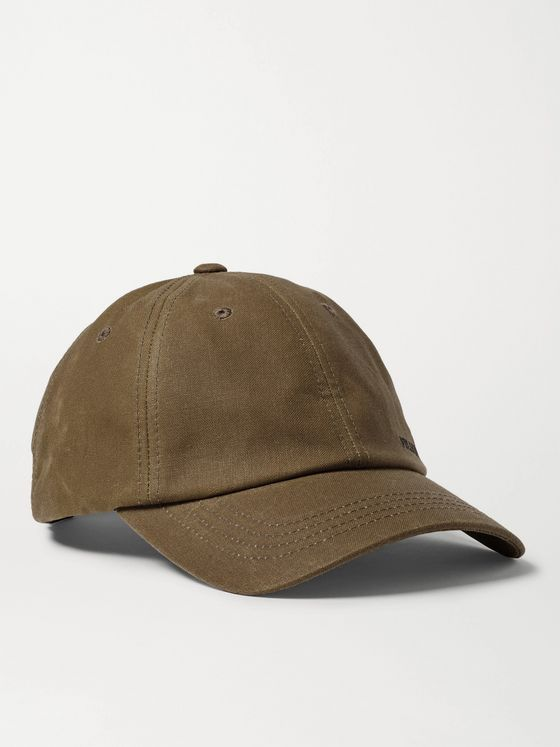Filson Logo-Embroidered Cotton Baseball Cap