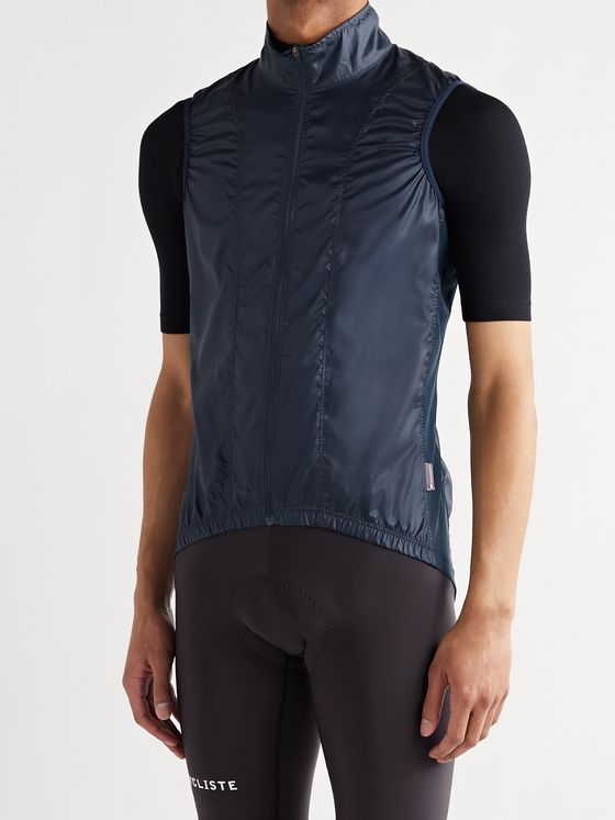 CAFE DU CYCLISTE Petra Ripstop and Mesh Cycling Gilet