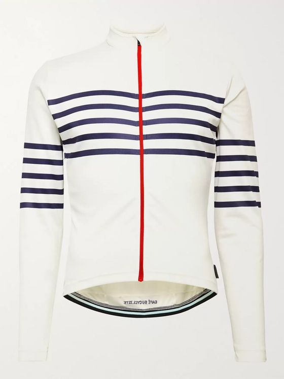 Cafe du Cycliste Claudette Striped Cycling Jersey