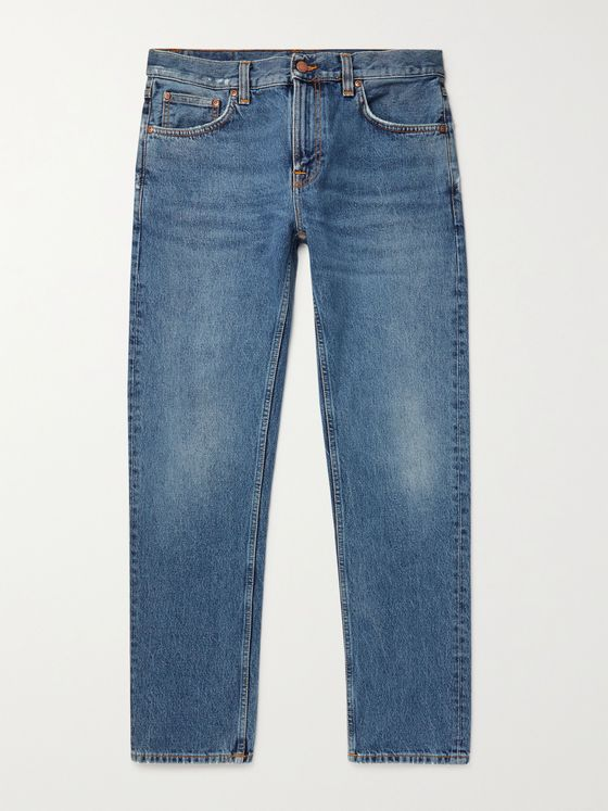 NUDIE JEANS Gritty Jackson Slim-Fit Denim Jeans