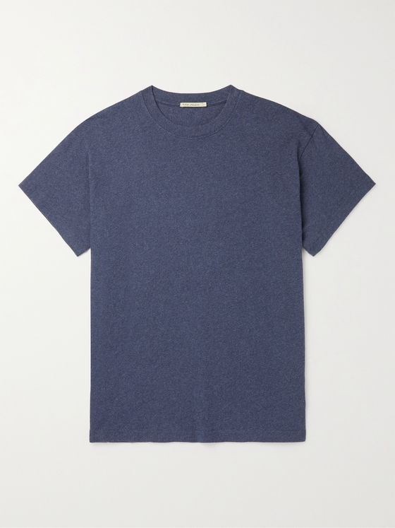 Nudie Jeans Milton Mélange Recycled Jersey T-Shirt