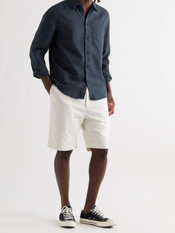 NUDIE JEANS Chuck TENCEL Lyocell and Organic Cotton-Blend Twill Shirt