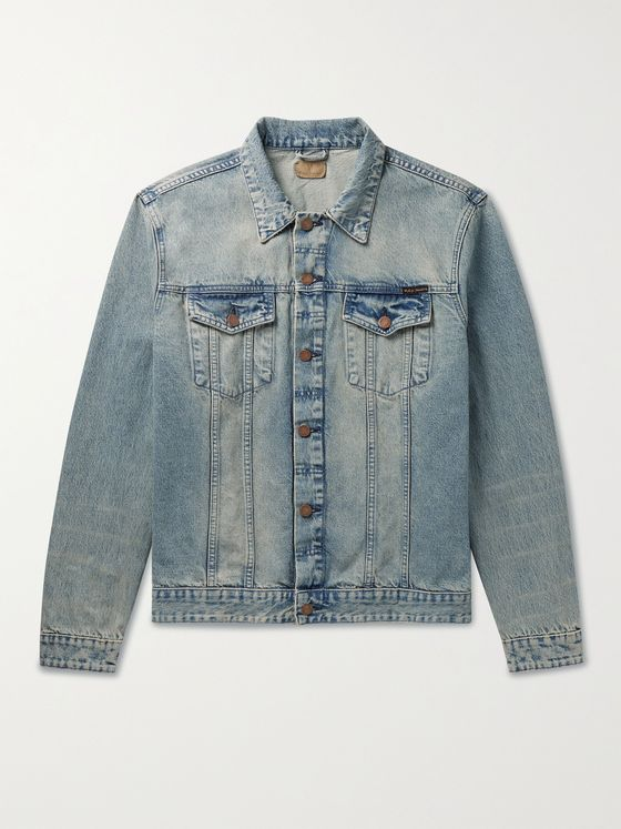 NUDIE JEANS Jerry Dusty Days Organic Denim Jacket