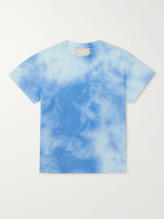 JEANERICA Marcel Tie-Dyed Linen-Jersey T-Shirt