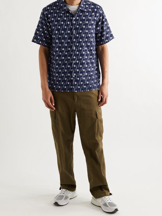 UNIVERSAL WORKS Road Printed Cotton Shirt