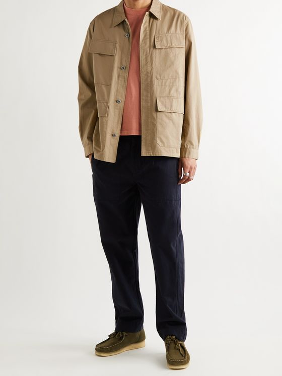 UNIVERSAL WORKS Fatigue Cotton-Blend Twill Jacket