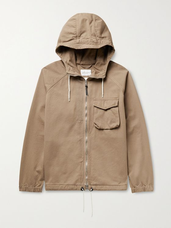 Albam Hennek Cotton-Twill Parka