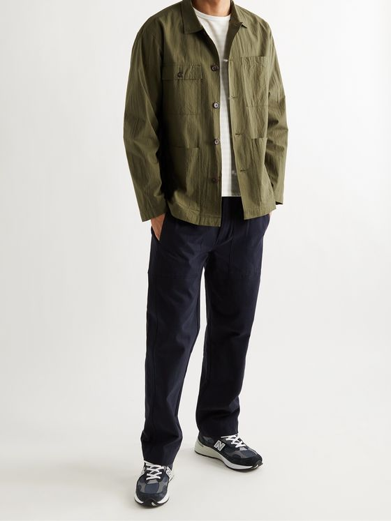 UNIVERSAL WORKS Dockside Cotton-Ripstop Overshirt