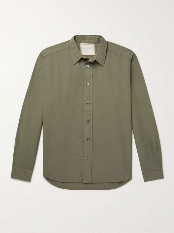 JEANERICA Daho Cotton-Oxford Shirt