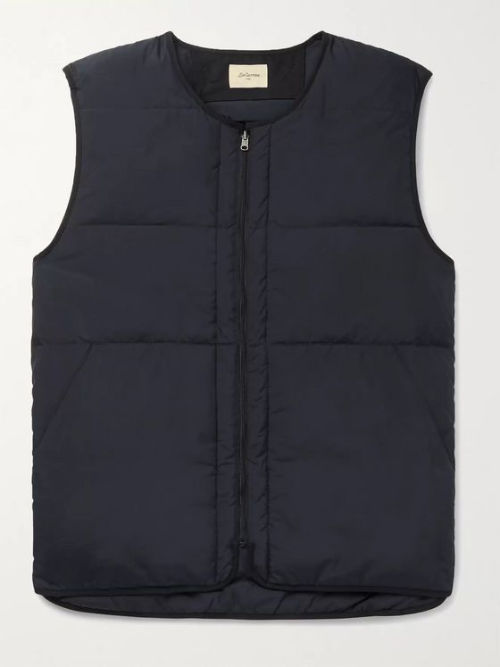 Bellerose Hoch2 Quilted Shell Down Gilet