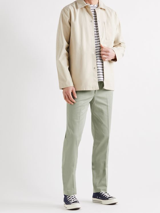 BELLEROSE Sammy Tapered Cotton-Twill Chinos