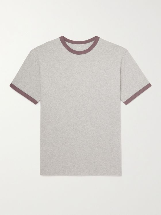 Bellerose Mélange Cotton-Jersey T-Shirt
