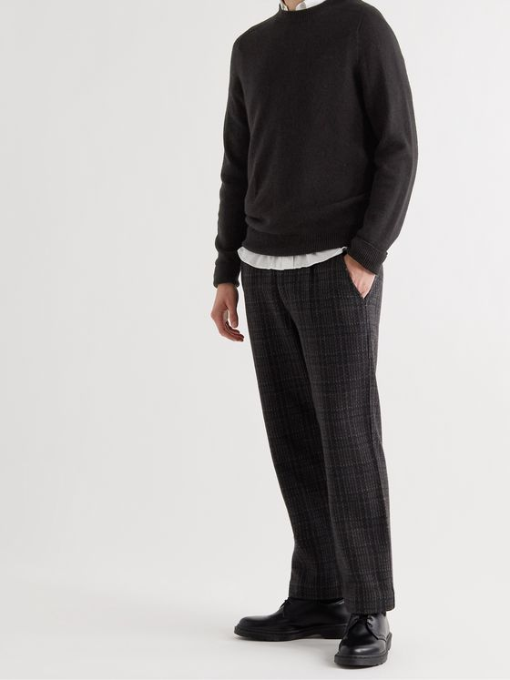 MARGARET HOWELL Cashmere and Cotton-Blend Sweater