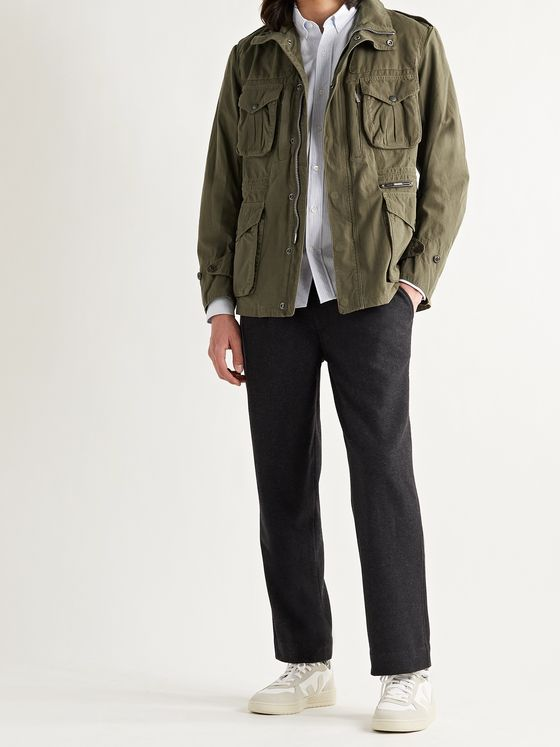 BARBOUR GOLD STANDARD Corbridge Slim-Fit Cotton-Ripstop Jacket