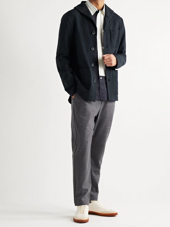 Barena Shawl-Collar Virgin Wool-Blend Chore Jacket
