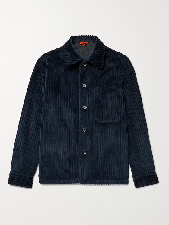 Barena Cotton-Corduroy Shirt Jacket