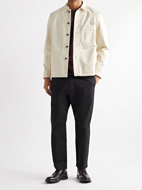 Barena Cotton-Twill Overshirt