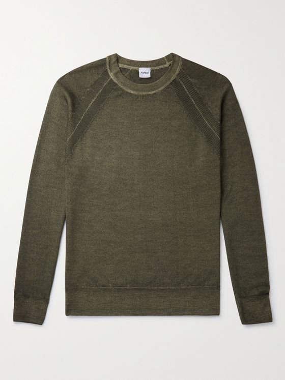 ASPESI Slim-Fit Wool Sweater