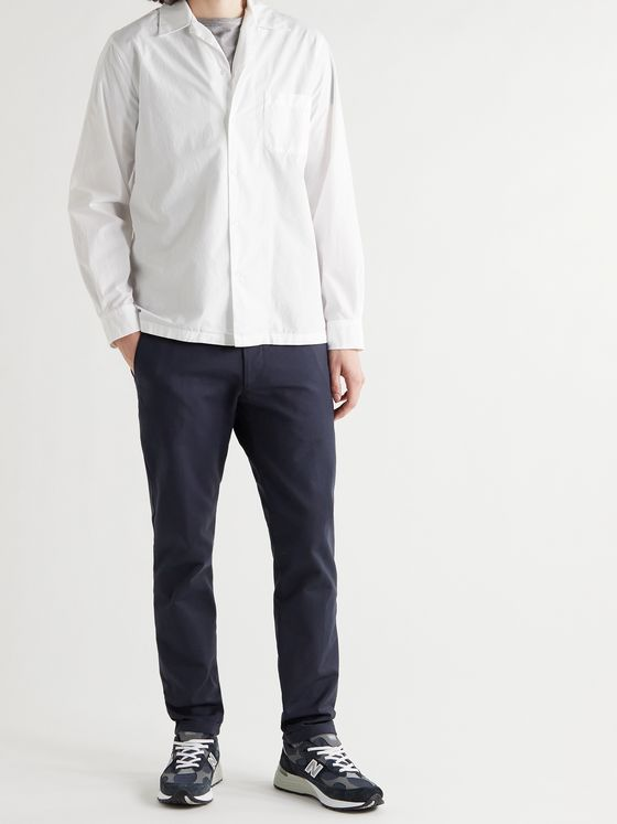 ASPESI Camp-Collar Cotton Shirt