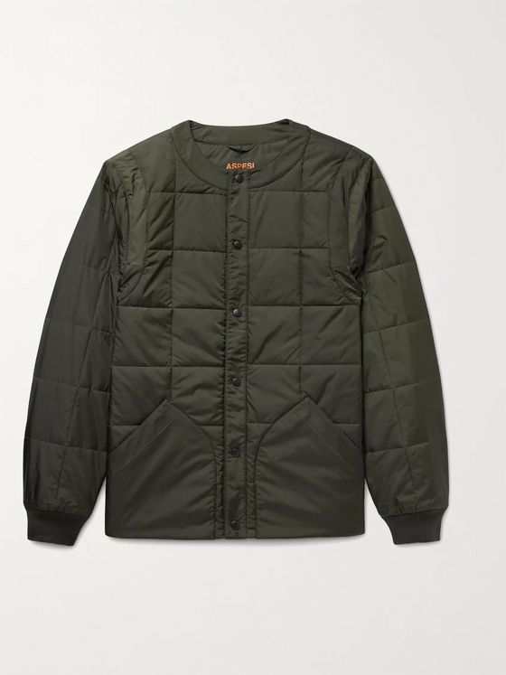 ASPESI Quilted Nylon Jacket