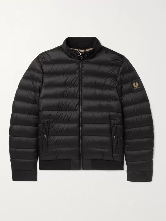 BELSTAFF Circuit Logo-Appliquéd Quilted Shell Down Jacket