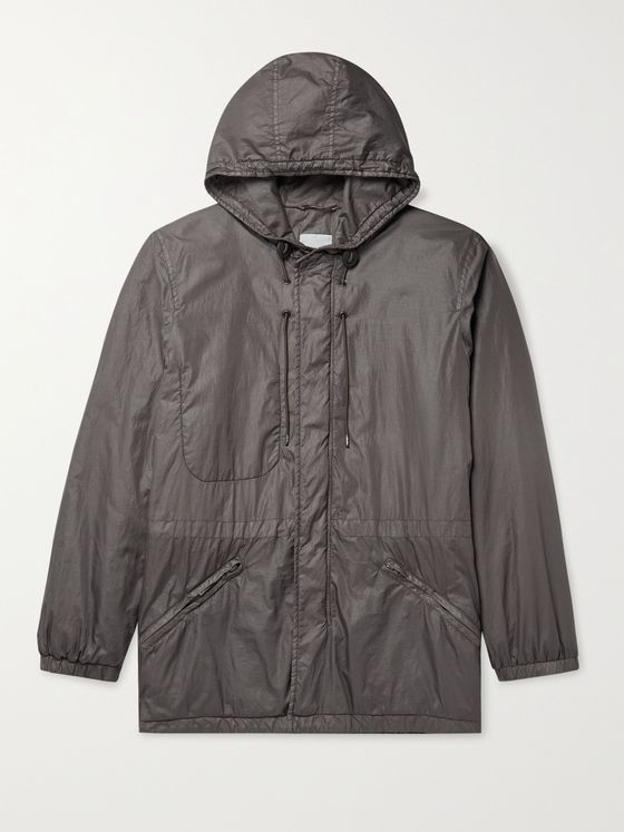 ASPESI Nylon Hooded Parka