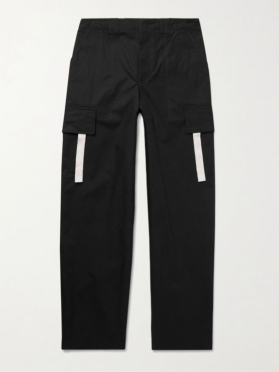 JACQUEMUS Wide-Leg Cotton-Ripstop Cargo Trousers