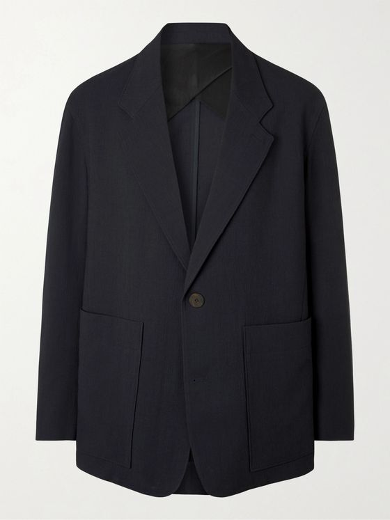 STUDIO NICHOLSON Unstructured Woven Suit Jacket