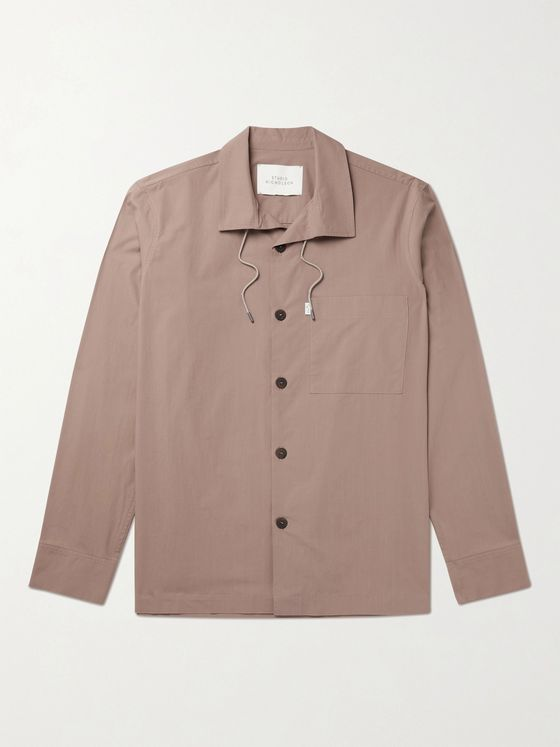 STUDIO NICHOLSON Lincoln Cotton Overshirt
