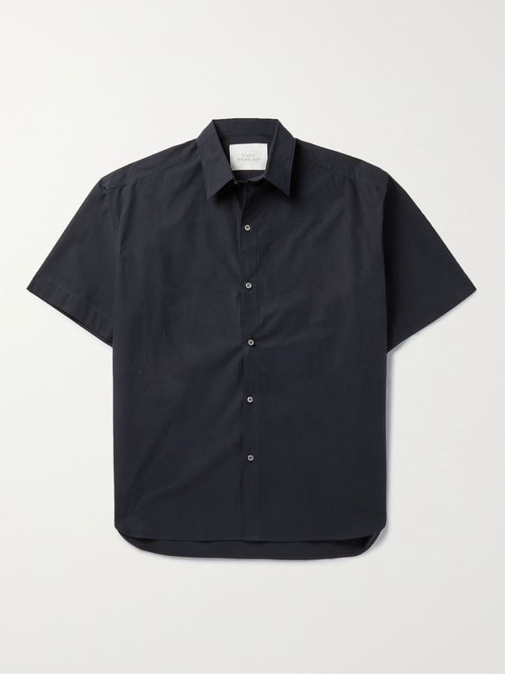 Studio Nicholson Sorono Cotton-Poplin Shirt