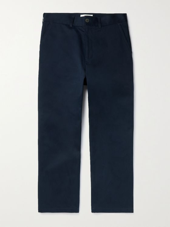 Studio Nicholson Bill Cotton-Twill Trousers