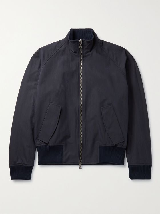 Studio Nicholson Moburg Cotton-Blend Bomber Jacket