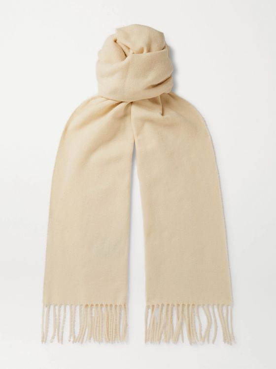 NN07 Fringed Wool Scarf