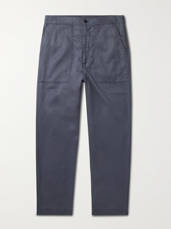 OFFICINE GÉNÉRALE Paolo Garment-Dyed TENCEL Chinos