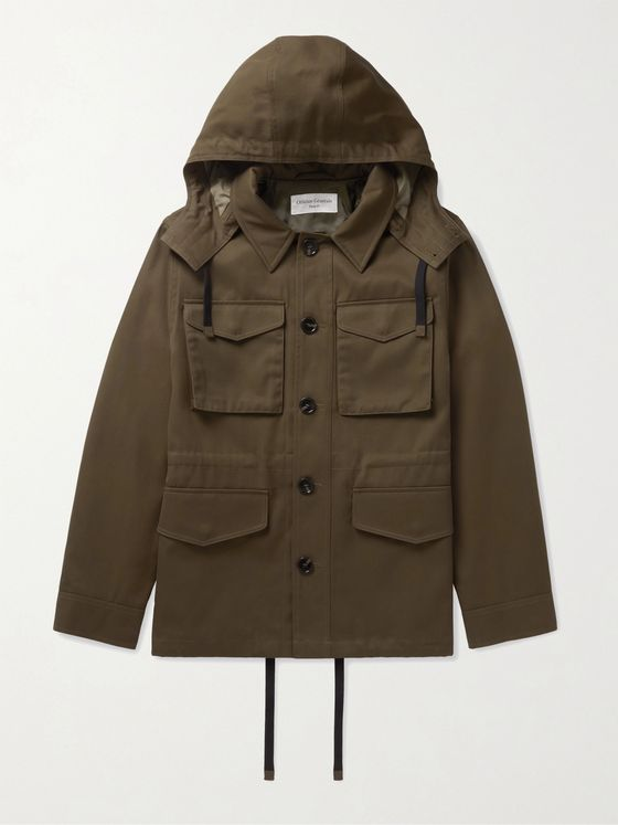 OFFICINE GÉNÉRALE Aristide Tech-Twill Hooded Field Jacket