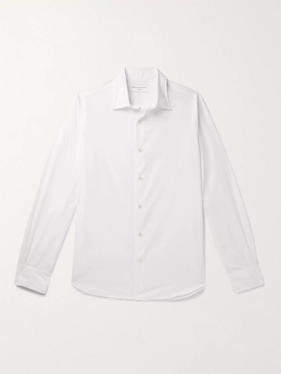 OFFICINE GÉNÉRALE Giacomo Cotton-Poplin Shirt