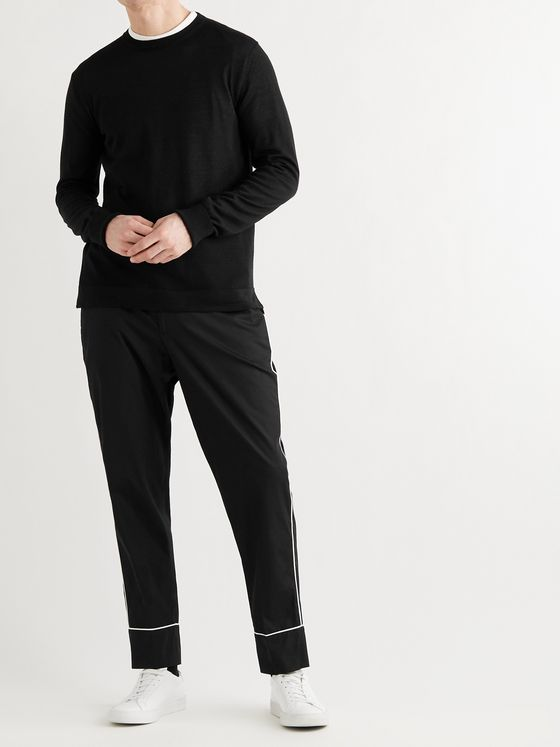 OFFICINE GÉNÉRALE Nina Wool and Silk-Blend Sweater